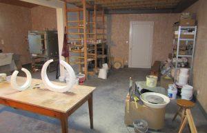 atelier-ceramique-angelique-villeneuve aperçu de l'atelier