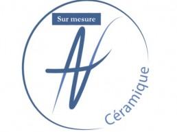 Logo sur mesure céramique Angélique Villeneuve Ravel