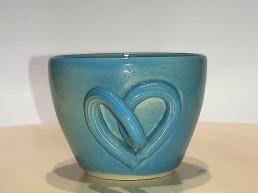 Tasse en céramique pour des noces de turquoise